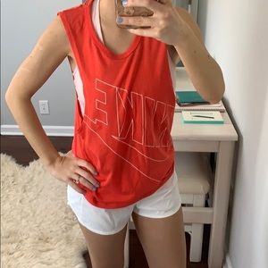 Nike Frat/Muscle Workout Tank Coral XS-S